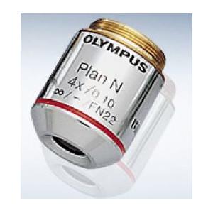 Olympus Obiettivo PLN 4X/0,1 planacromatico