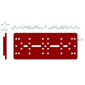 PrimaLuceLab Piastra a coda di rondine PLUS tipo Losmandy 240 mm
