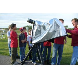 Telegizmos Voile de protection pour l'observation solaire