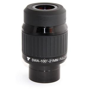 "TS Optics Oculare 100° serie Ultra 21 mm 2"""