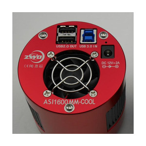 Caméra ZWO ASI 1600 MM-Cool V3 Mono