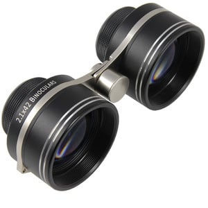 Omegon Binoculares 2,1x42 para observación de campos estelares