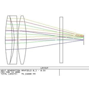 Optec Reducer NextGEN MAXfield 0,33x SCT