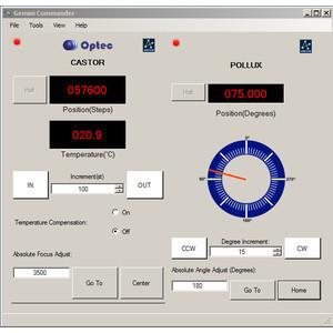 Optec Focheggiatore Gemini Focusing Rotator
