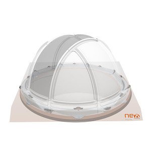 NexDome Cupola 2,2 m con anello