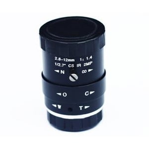 ZWO Objetivo ASI, 2,8mm - 12mm
