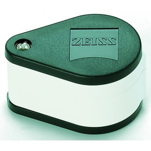 ZEISS Lente d'ingrandimento tascabile aplanatica-acromatica D40; 10x