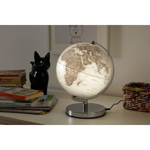 emform Globe Terra Silver Light 24cm