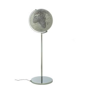 Globe sur pied emform Sojus Silver 42,5cm