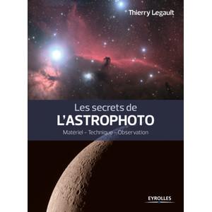 Livre Eyrolles Les secrets de l'astrophoto