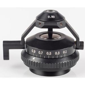 Motic Condensatore oscillante acromatico N.A. 0,90/0.13 con diaframma a iride