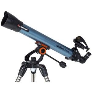 Celestron Teleskop AC 70/700 AZ Inspire Planet & Moon Set