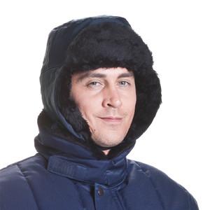 ColdTex Kälteschutz Pelzmütze mit Ohrenklappen Größe XL