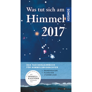 Kosmos Verlag Jahrbuch Was tut sich am Himmel 2017