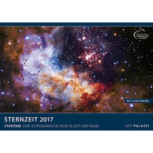 Palazzi Verlag Kalender Sternzeit 2017