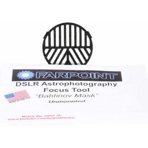 Farpoint Bahtinov maschera di messa a fuoco Snap-in per DSLR con filtro diametro 58 mm