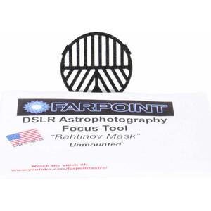 Farpoint Bahtinov maschera di messa a fuoco Snap-in per DSLR con filtro diametro 82 mm