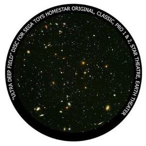 Redmark Diapositiva para planetario Sega Homestar Pro, campo ultra profundo de Hubble