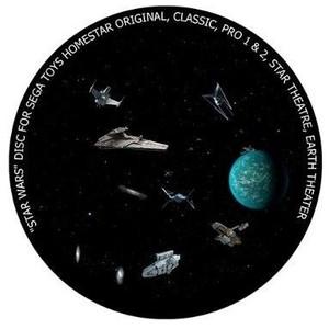 Redmark Diapositiva para planetario Sega Homestar Pro, guerras estelares