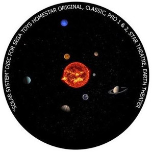 Redmark Diapositiva para planetario Sega Homestar Pro, Sistema Solar