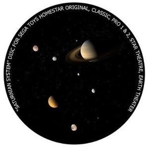 Redmark Dia für das Sega Homestar Planetarium Saturn-System