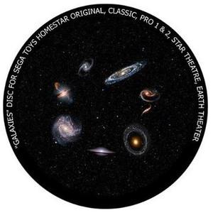 Redmark Diapositiva para planetario Sega Homestar Pro, galaxias