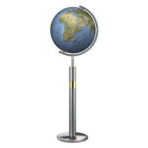 Columbus Standglobus Duorama Edelstahl 40cm