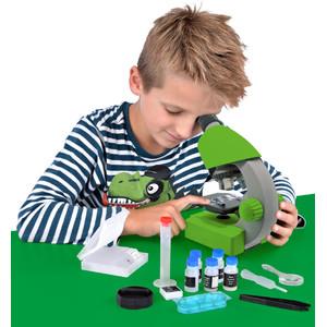 Bresser Junior Microscopio JUNIOR 40x-640x, verde