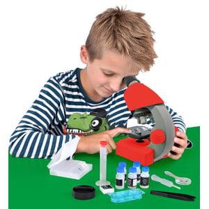 Bresser Junior microscopio 40x-640x, rosso