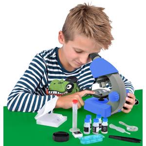Bresser Junior Junior microscope, 40X-640X, blue