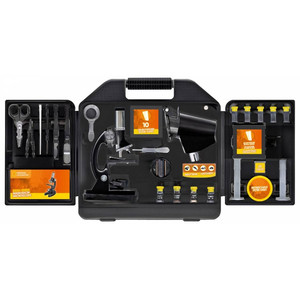 National Geographic Microscope set, 300X-1200X (including case)
