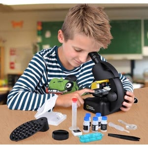 Microscope National Geographic 40x-640x adaptateur smartphone inclus
