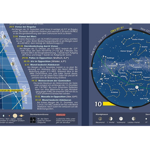 Astronomie-Verlag Poster Das Astronomische Jahr 2017