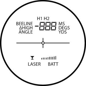 HAWKE Telémetro RF 400 Professional
