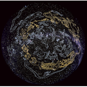 Redmark Diapositiva para planetario Sega Homestar Pro, figuras de las constelaciones