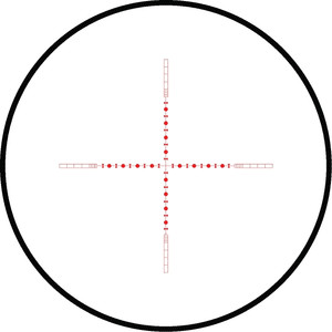 Lunette de visée HAWKE PANORAMA 4-12x40; 10x Half Mil Dot