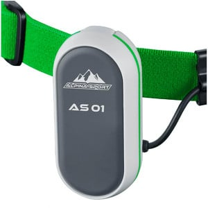 Alpina Sports AS01 headlamp, green