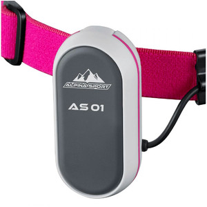 Alpina Sports Lampada frontale AS01 fucsia