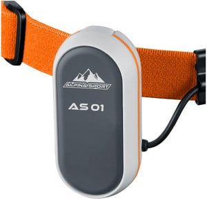Alpina Sports AS01 headlamp, orange