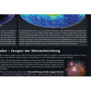 Astronomie-Verlag Poster Unsere Milchstraße