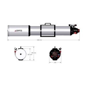 Agema Optics Apochromatischer Refraktor AP 180/1620 SD 180 F9 OTA