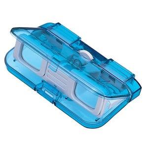 Vixen Opernglas 3x28, blau, translucent