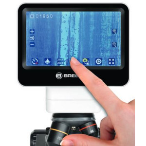 Bresser LCD-Mikroskop Touch, 5MP, 40x-1400x