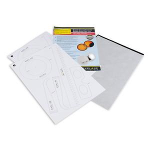Explore Scientific Filtro solare in foglio Solarix con papercraft DIN A4, ND5