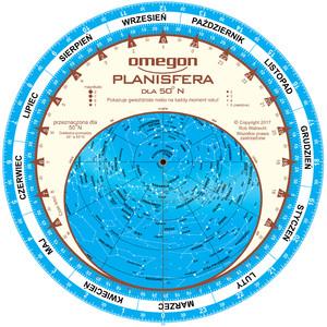 Omegon Obrotowa mapa nieba 25cm / 50°
