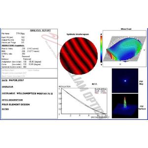 William Optics Apochromatic refractor AP 71/350 WO-Star 71 Blue OTA