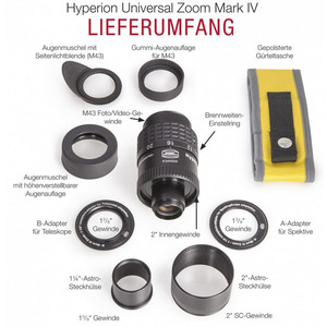 "Baader Ocular zoom Hyperion 8-24mm Universal Mark IV 2"""