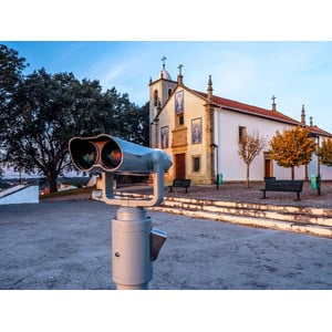 Omegon Telescopio para ver el paisaje Bonview 20x100