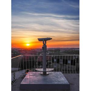 Omegon Aussichtsfernrohr Bonview 20x100