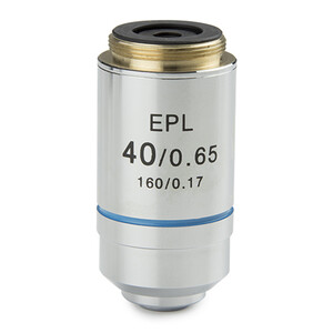 Euromex Objective IS.7140, 40x/0.65, EPL, E-plan, S (iScope)